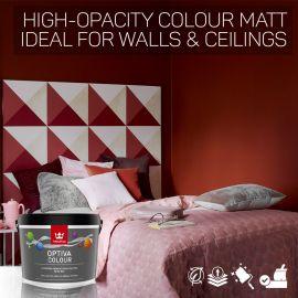 Tikkurila Optiva Colour High-Opacity Matt for Walls & Ceilings - Colour Match