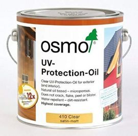 Osmo Exterior UV Protection Oil -750ml-Clear (Satin)