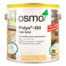 Osmo Interior Polyx Oil (High Solid)-2.5L-Satin-Clear