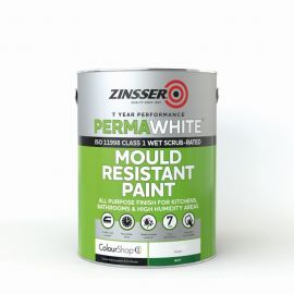 Zinsser Perma-White® Interior Matt - Colour Match *Out of Stock of Pale Colours*