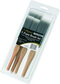 "Harris Platinum 5 Brush pack: 2x1"", 2x1.5"", 1x2"""