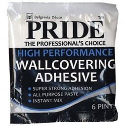 Pride All Purpose Wallpaper Adhesive 90g (6 Pint)