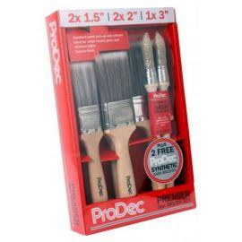 ProDec Premier Paint Brush Set - 7 Pack
