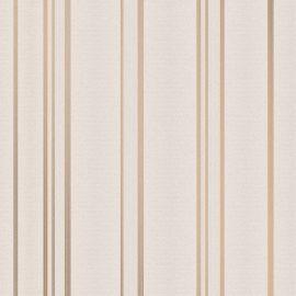 Pulse Glitter Stripe Wallpaper Taupe