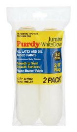 "Purdy White Dove 6"" Roller Sleeves (3/8"" Nap)"