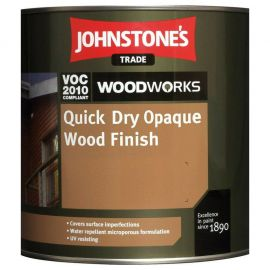 Johnstones Trade Quick Dry Opaque Wood Finish - Colour Match *5L Pale Colours Only - Out of Stock of Dark Colours*