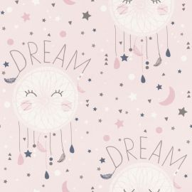 Rasch Bambino Dreamcatchers and Stars Wallpaper