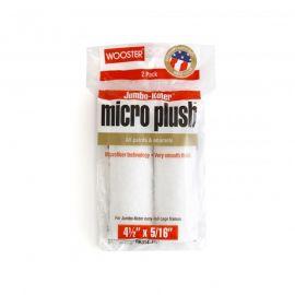 "Wooster Jumbo-Koter Micro Plush 4.5"" x 5/16"" Roller Sleeve 2-Pack"