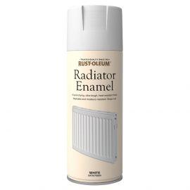 Rust-oleum Radiator Enamel White Satin Finish