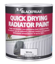 Blackfriar Quick Drying Radiator Paint - Semi-Gloss Finish