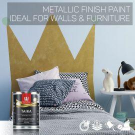Tikkurila Taika Pearl Metallic Finish Paint - Colour Match