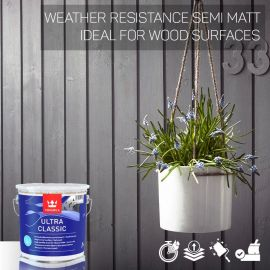 Tikkurila Ultra Classic Weather-Resistant Wood Paint - Colour Match
