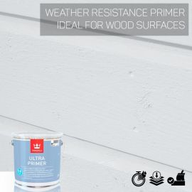 Tikkurila Ultra Weather-Resistant Wood Primer - Colour Match