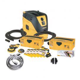 Ultimate Mirka Sanding Deco Kit and Dust Extractor Bundle