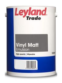 Leyland Trade Vinyl Matt - Colour Match (VERY LIMITED STOCK OF 1L - AVAILABLE TO BACKORDER)