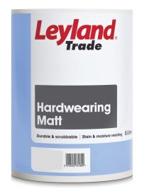Leyland Trade Hardwearing Matt - Colour Match *LIMITED STOCK - POTENTIAL DELAYS ON THIS PRODUCT (5L ONLY AVAILABLE ON BACKORDER, CONTACT US FOR MORE INFO*