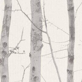 Woodland Trees Wallpaper
