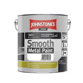 Johnstones Smooth Metal Paint Black 2.5L