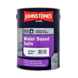 Johnstones Aqua Satin Brilliant White 1L