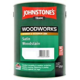 Johnstones Trade Satin Woodstain