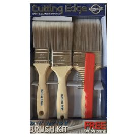 Cutting Edge Brush Set (5 pack)
