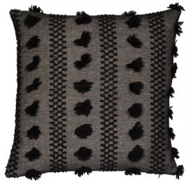 Malini Tazanna Black Cushion