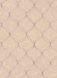 Vintage Trellis Wallpaper Cream