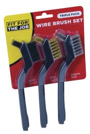Wire Brush Set (3 pack)