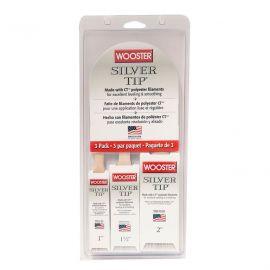 Wooster Silver Tip Varnish Brush Set - 3 Pack