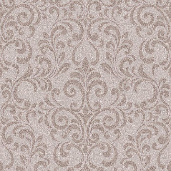 Lipsy Luxe Glitter Damask Wallpaper Rose Gold Muriva Wallpaper