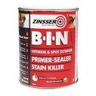 Zinsser B-I-N Interior & Spot Exterior Primer-Sealer Stain Killer