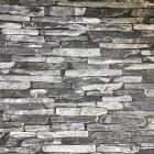 Slate Faux Brick Wallpaper Grey