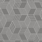 Astonia Geometric Stripe Wallpaper Charcoal