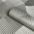 Hoxton Overlap Wallpaper Grey