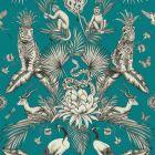 Menagerie Jungle Animals Wallpaper