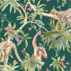 Orangutan Jungle Tropica Wallpaper