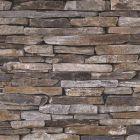 Wood and Slate Natural Slate Wallpaper