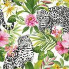 Tropica Leopard Multi Wallpaper