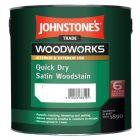 Johnstones Trade Quick Dry Satin Woodstain