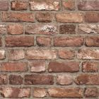 A realistic distressed brick wallpaper sample.