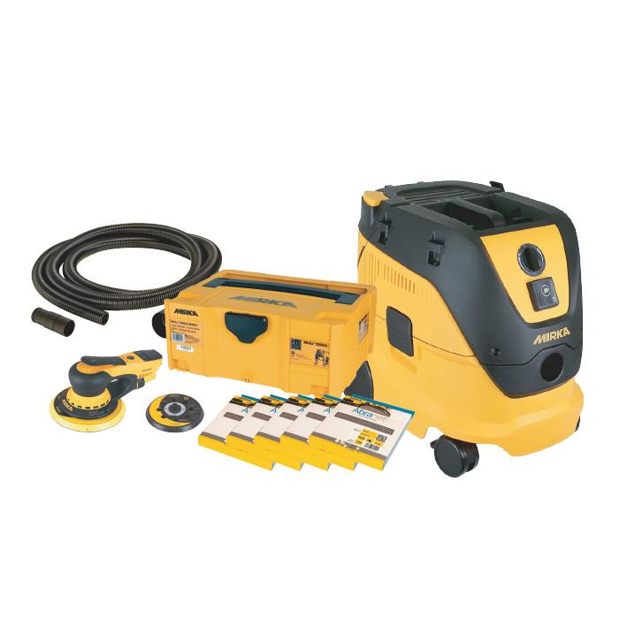 Mirka DEROS Deco Kit and Dust Extractor Sanding Bundle