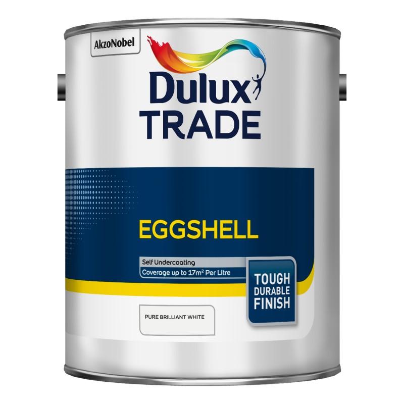 Dulux Trade Eggshell - Pure Brilliant White