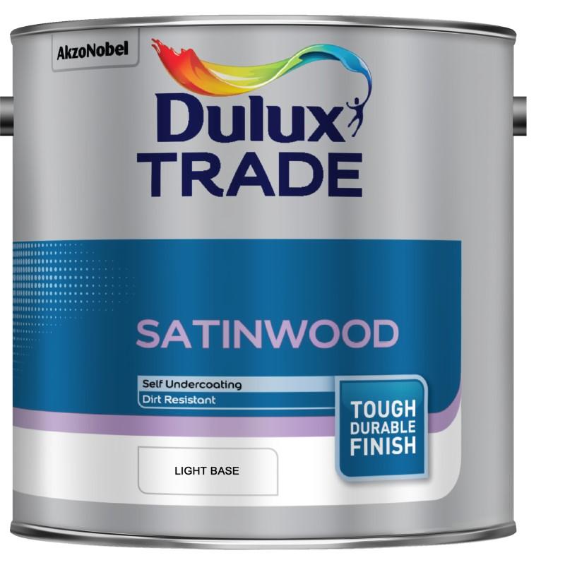 Dulux Trade Satinwood Paint - Colour Match