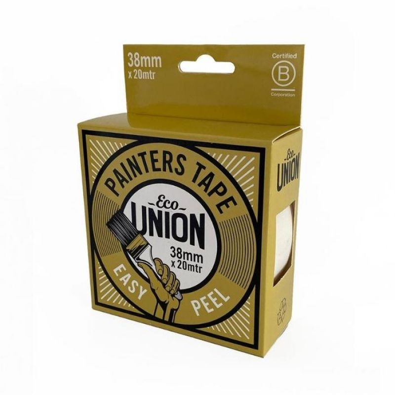 Eco Union Recyclable Masking Tape - 20mtr x 38mm