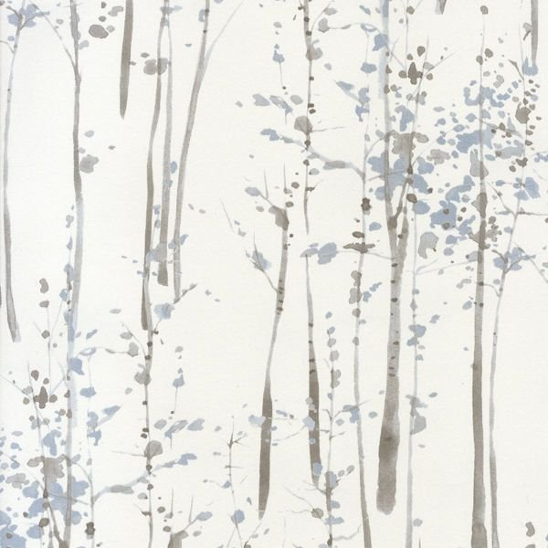Scandi Abstract Tree Wallpaper