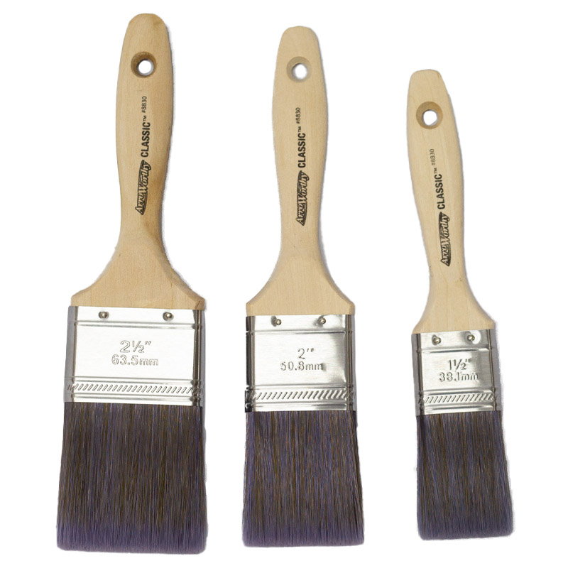 Arroworthy Classic Contractor Flat Beaver Tail Long Handle Brush