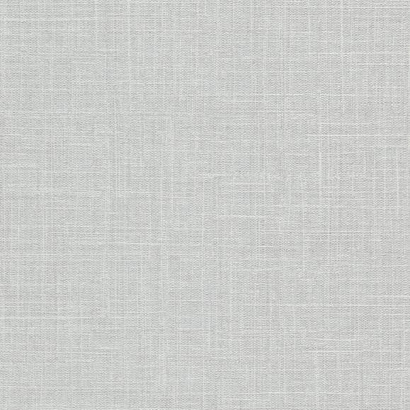 Luna Linen Texture Glitter Wallpaper Light Grey