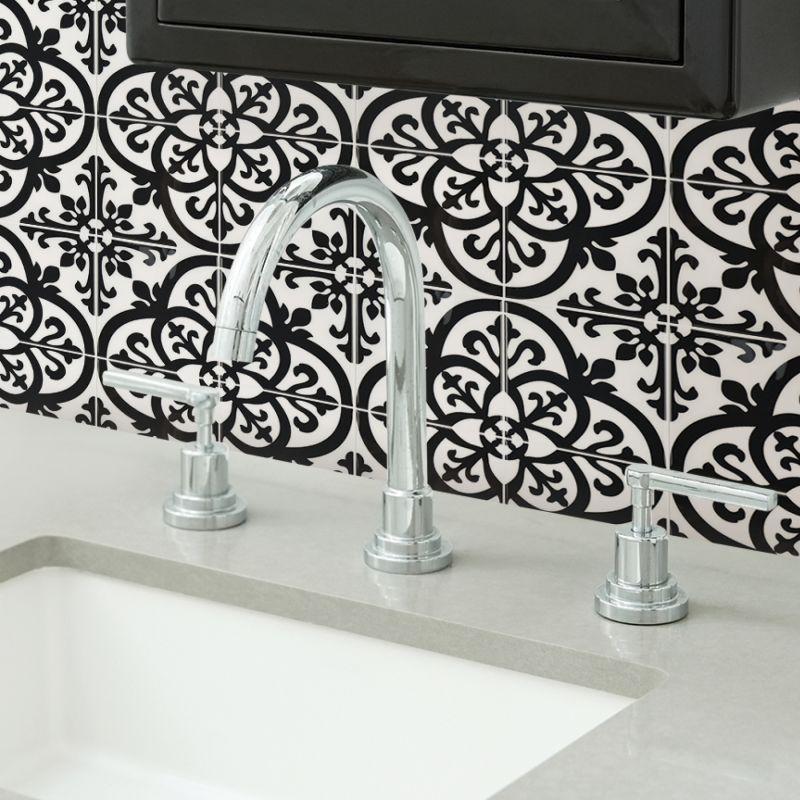 Avignon Peel & Stick Backsplash Adhesive Wall Tiles