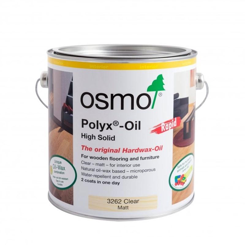 Osmo Polyx Oil Rapid (Clear Matt) - 3262