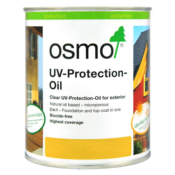 Osmo Exterior UV Protection Oil - Clear Satin 410